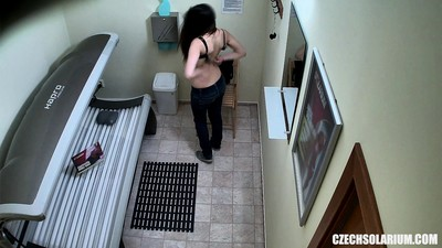 Spy Footage of Teen Girl in..