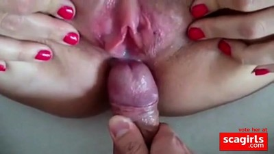 creampie clouse up