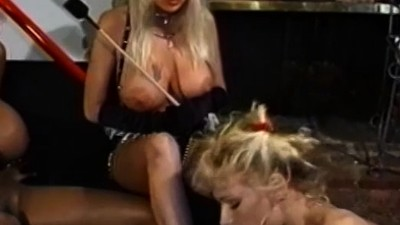 Busty enema dykes toying..