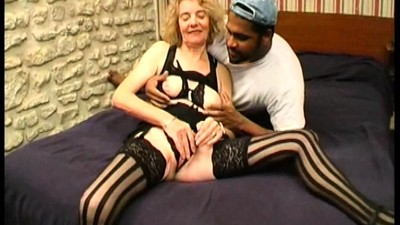 Granny Agnes analfucked by a..