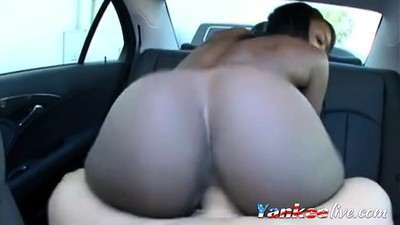 sexy round black ass ride..