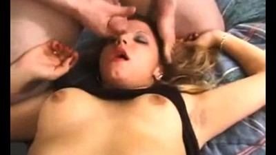 Fit blonde babe hardcore sex..