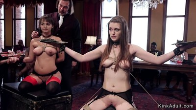 Slaves zappered and anal..