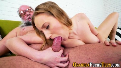 Teen rimmed by old dude