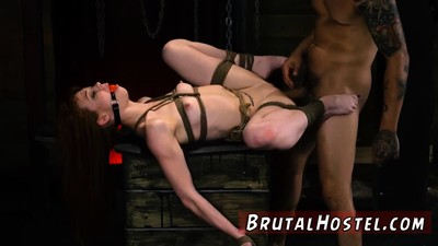 Brutal amateur threesome and..