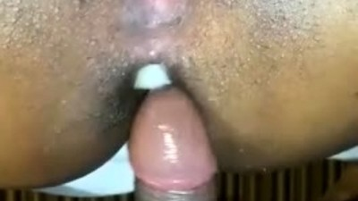 Anal action between an ebony..
