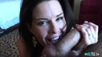 Beautiful Milf Sucks and..