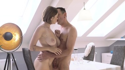 Teen cums all over cock Old..