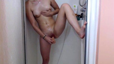 Gorgeous Babe Fucks Herself..