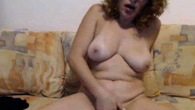 Mature wildly convulses from..