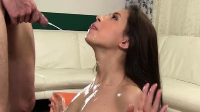 Fantastic honey gets her..